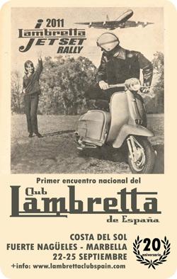 Primer encuentro Nacional del Club LAMBRETTA de España